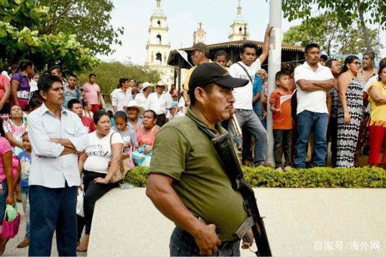 墨西哥再发生市长候选人被杀事件。图片来源:洛杉矶时报