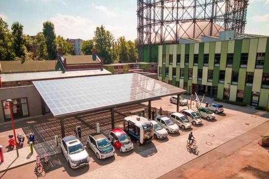 柏林欧瑞府能源科技园(图源:雄安颁布)