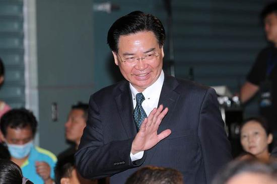 图为台外事部门负责人吴钊燮。(来源:中时电子报)