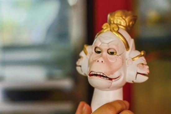 木偶头雕刻作品