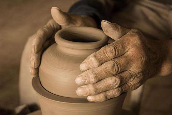 澄城尧头陶瓷制作