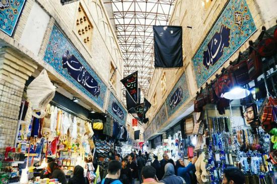 ▲伊朗国内物价的上涨已经影响了居民的日常生活。
