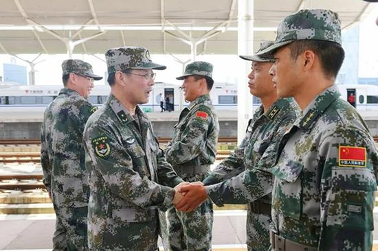 尹红星少将新职明确:接棒徐德清任第71集团军政委