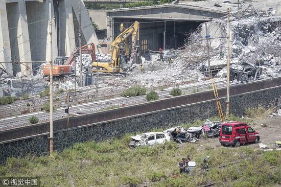 意大利塌桥事故报警录音曝光:接线员反应慢惹众怒