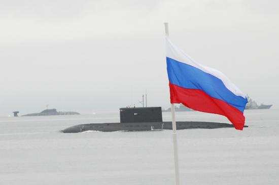 海军日上的基洛级潜艇,俄罗斯庞大的水下力量依然对美国有很大的威胁,这也是第二舰队重组的原因