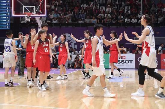 2018雅加达-巨港亚运女篮铜牌战:中国台北队VS日本队