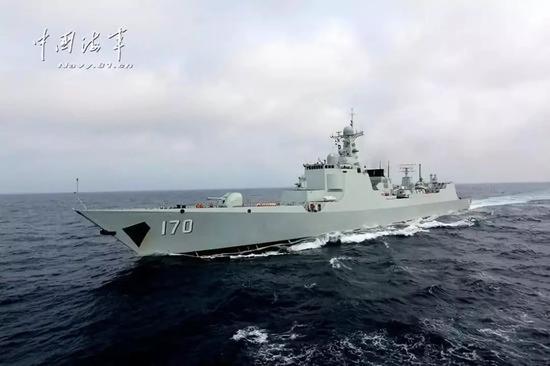 ▲中国海军170舰