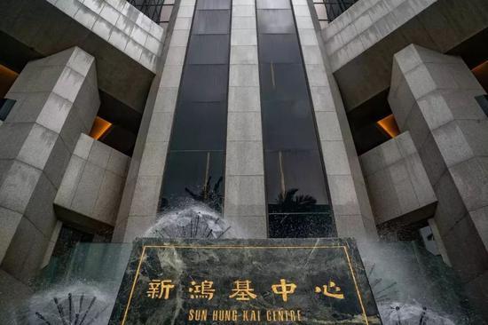 香港新鸿基中心(图片来源:视觉中国)