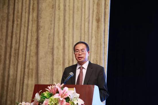 中国仲裁法学研究会副秘书长陈建致辞