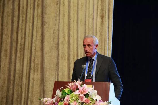 意大利米兰仲裁员专家调解员Stefano Pavletic作主题演讲