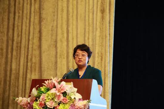 中国国际贸易促进委员会商事法律服务中心主任蔡晨风致辞