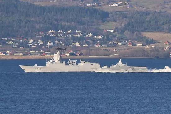 资料图:南森级护卫舰英斯塔号