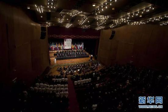 ▲資料圖片:2011年10月28日,第21屆伊比利亞美洲國家首腦會議在巴拉圭首都亞松森開幕。
