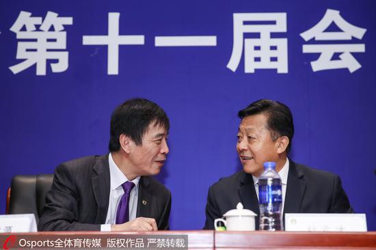"""足协新主席陈戌源:中国足球""""功成不必在我"""""""