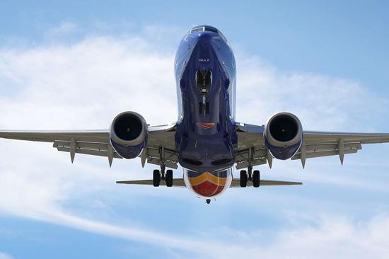 波音737客机(图源:CNBC)