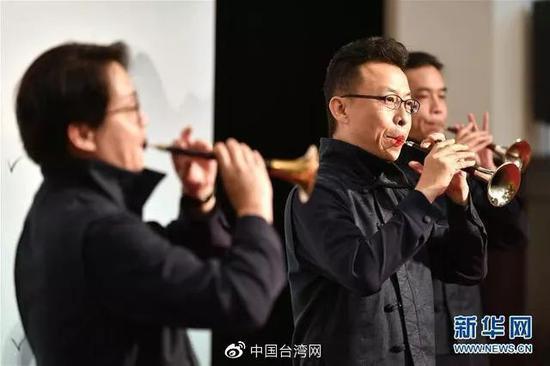 """台湾首个公立民乐团""""四十不惑"""":盼两岸更多交流"""