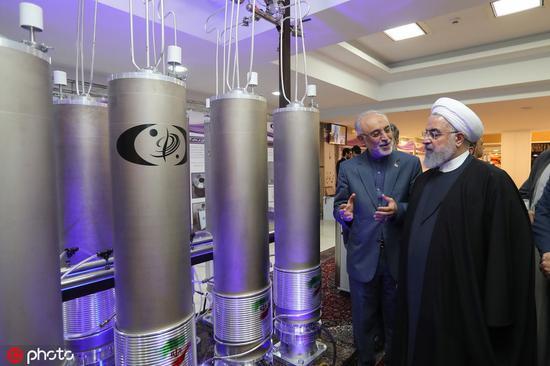 本年4月,伊朗颁布发表启动IR-6离心计心情装置事情,该型契合伊核和谈的划定 @IC Photo