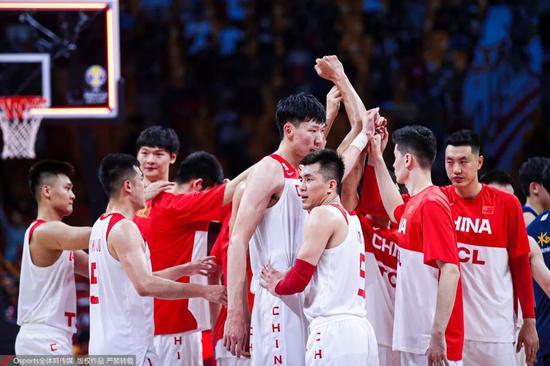 ▲中国男篮那一场挨出了气焰。图/Osports