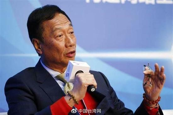 郭台铭宣布退出中国国民党 鸿海股价扬升涨2%