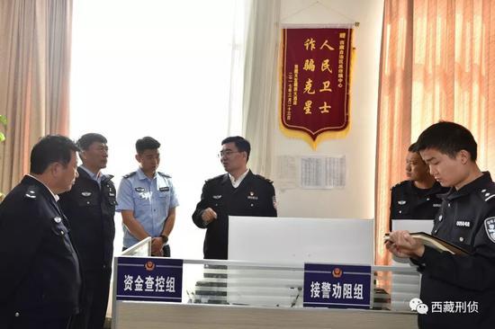 公安部来的援藏副厅长 中秋前去了西藏刑侦总队