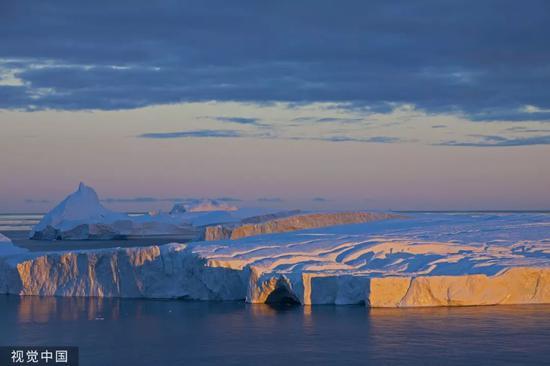 ▲資料圖片:格陵蘭島風光