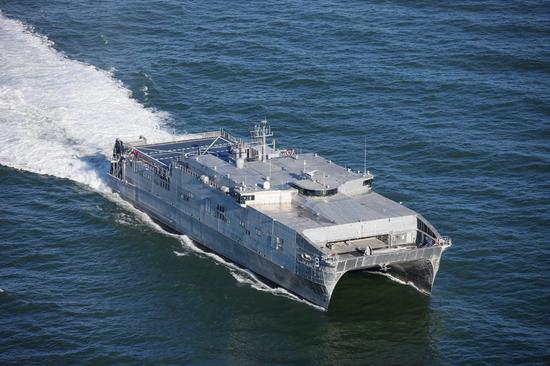 美军最快远征运输舰进入黑海 俄军立即派舰监视