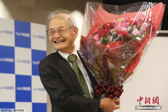 资料图:2019年诺贝尔化学奖得主吉野彰。