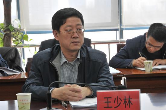 寧夏人社廳廳長王少林調任沈陽副市長(圖)