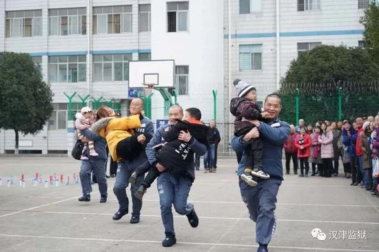 汉津监狱去年12月举行开放日活动