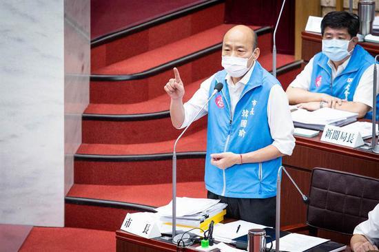摩天代理韩国瑜直斥光复高雄诉求荒摩天代理唐图片