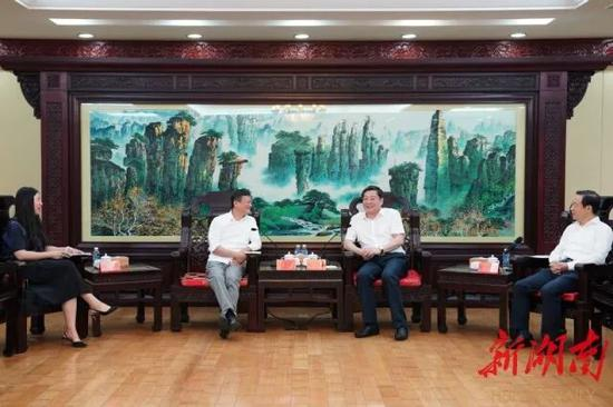 马云来长沙了!省委书记、省长和他聊了这些事图片