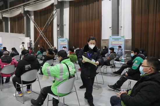 北京:朝阳区接种新冠病毒疫苗全流程探访图片