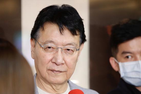 江启臣宣布争取连任国民党主席后 赵少康回应图片