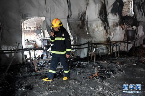 河南柘城武术馆火灾:伤亡人员身份确认 事故原因仍在调查中