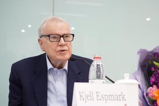 瑞典学院出走者之一埃斯普马克。