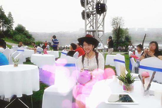 李扬帆妻子彭智凤生前照片。盐城新闻网 图