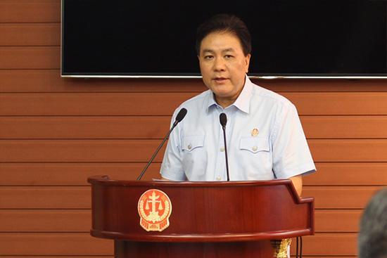 最高人民法院审委会专职委员刘贵祥。资料图