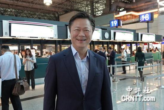 赖岳谦(图片来源:中评社)