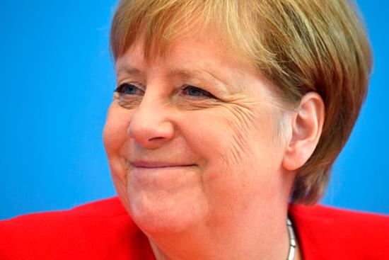 德国总理默克尔(图源:Getty)