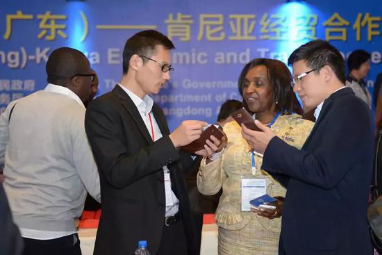 图为2016年广东省与肯尼亚企业签约合作项目。新华社记者孙瑞博摄