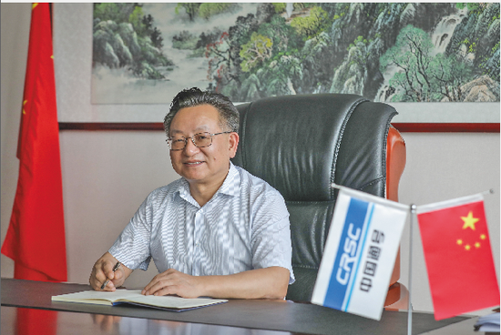 """中国通号董事长周志亮:中国高铁一定要""""走出去"""""""