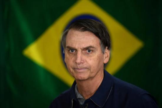 ▲资料图片:巴西总统博索纳罗(人民视觉)