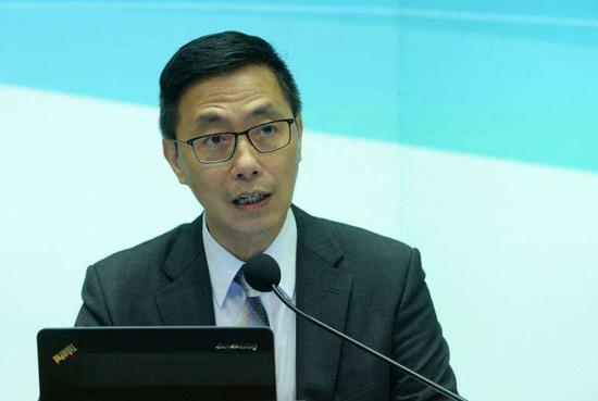 香港特区政府教育局长杨润雄(资料图)