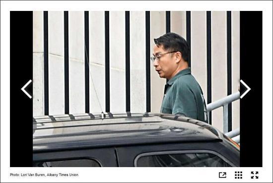 《时代联合报》报道截图:郑小清在听证会后获得保释