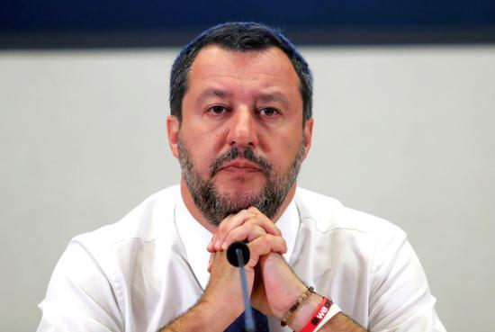 意大利內政部長薩爾維尼(圖源:路透社)