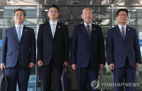 红十字会会谈韩方代表团