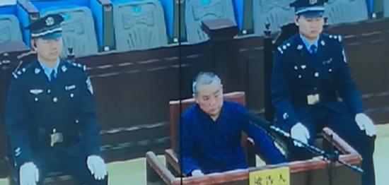 被告席上的蔡漳平