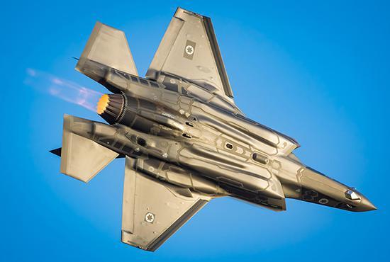 以色列空军装备的F-35I战机,其目前订购了50架,未来可能增购这种战机。