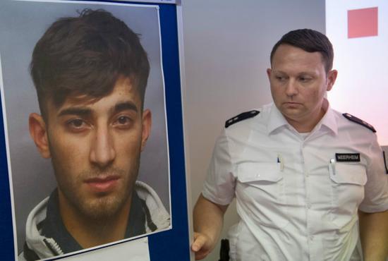 检方公布凶手巴哈尔的照片 图自图片报