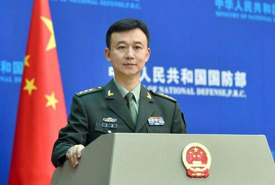 国防部新闻局局长、国防部新闻发言人吴谦大校